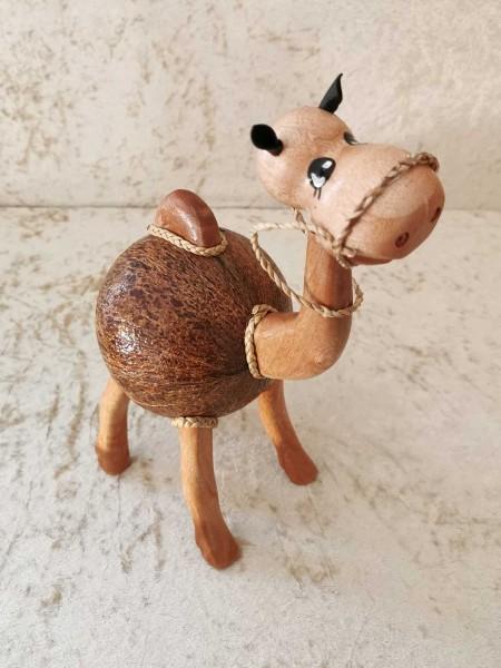 Kokos-Spardose Kamel