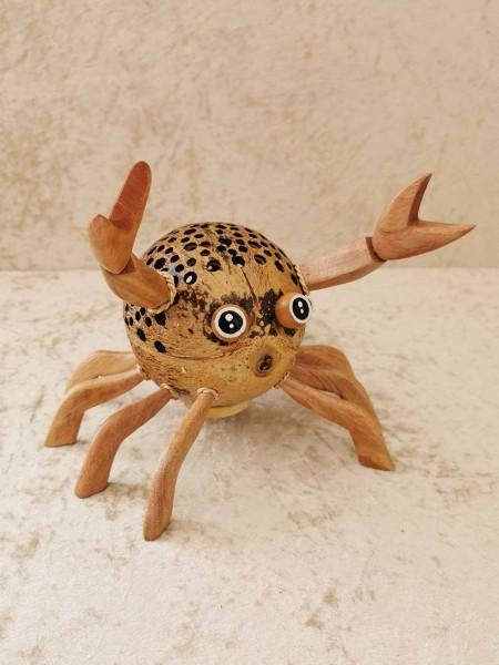 Kokos-Tierlampe Krabbe