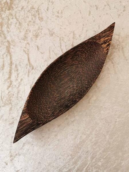 Palmholz-Schale, oval, groß