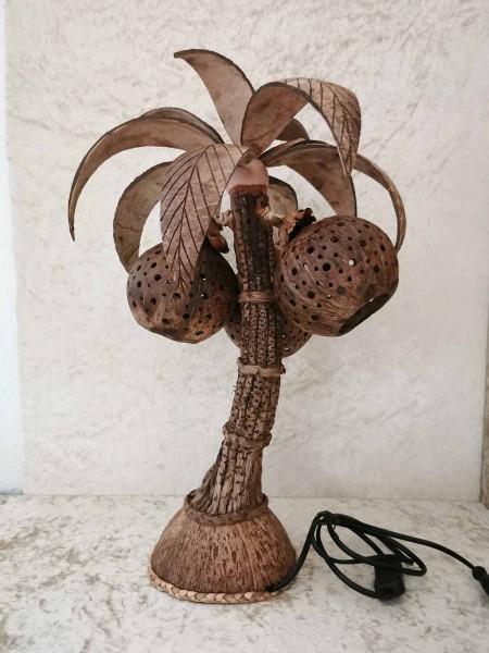 Palmlampe, groß, Stamm natürlich