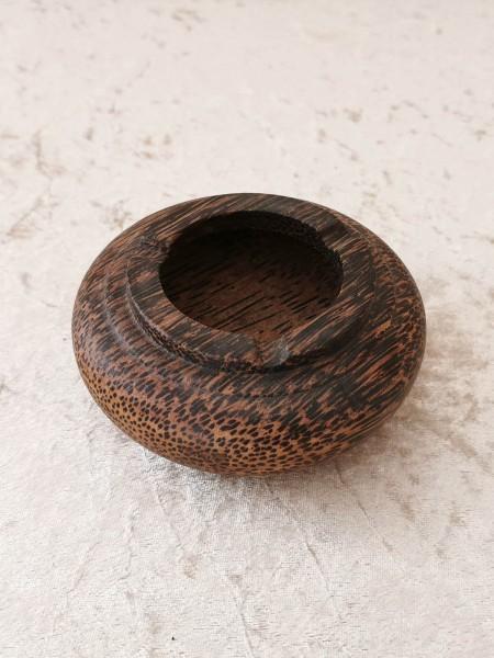 Palmholz-Aschenbecher, groß