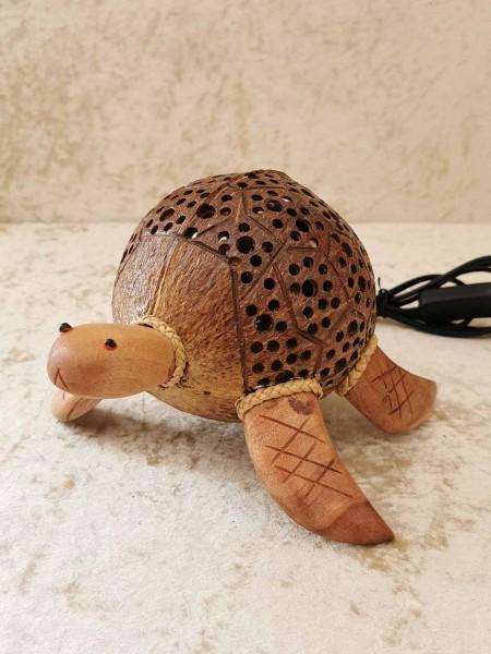 Kokos-Tierlampe Schildkröte