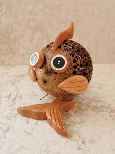 Kokos-Tierlampe Fisch
