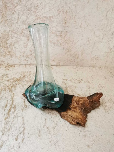 Wurzelglas Vase 009