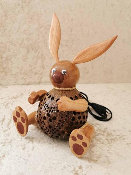 Kokos-Tierlampe Hase